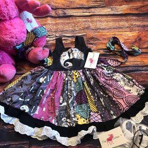 NBC Girls Boutique Twirl Dress Sally Jack Zero